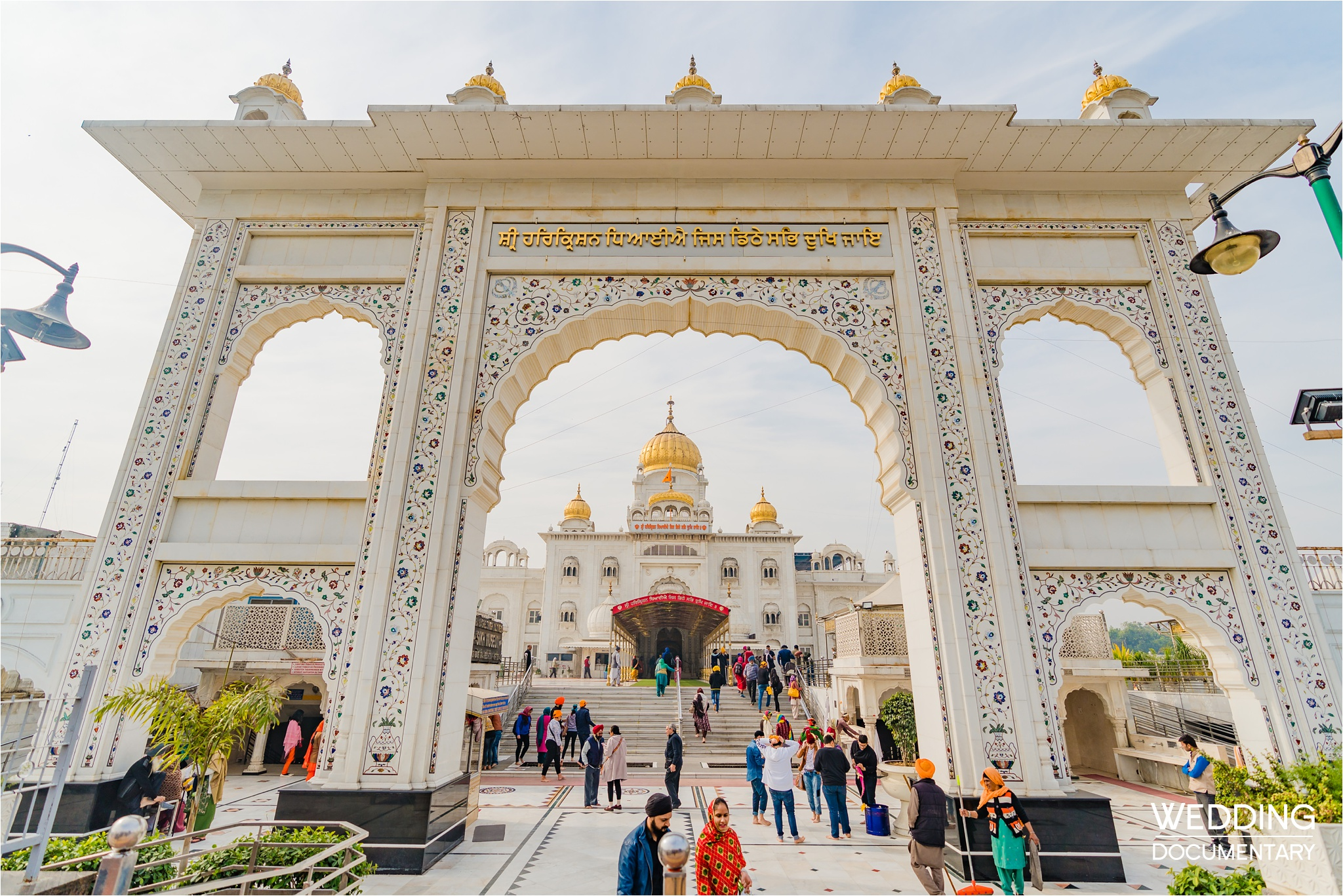 Incredible Sacred and Religious Landmarks of India - gurudwara bangla sahib delhi