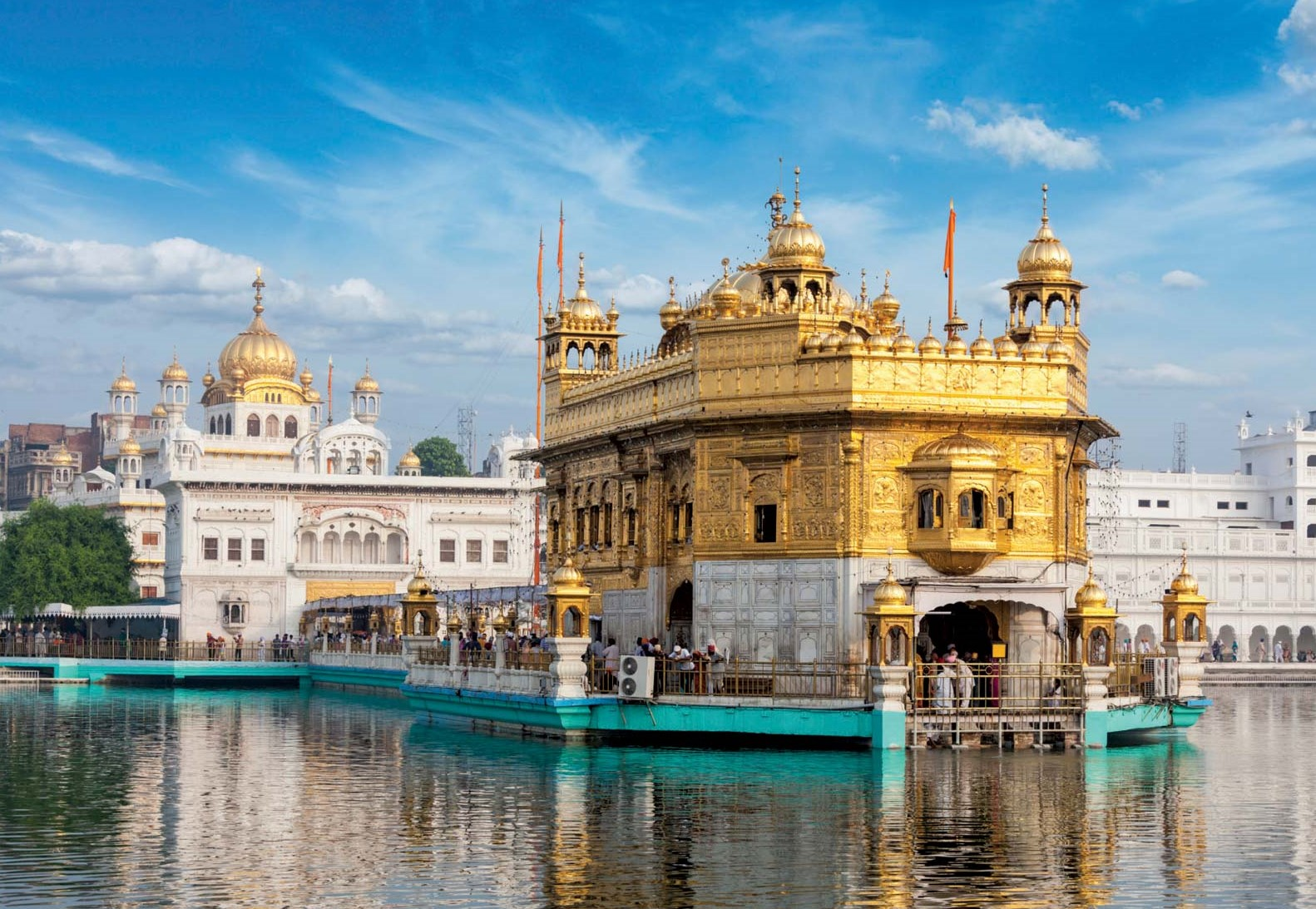 top Indian religious landmarks - Harmandir-Sahib-Amritsar-Indian-Golden-Temple