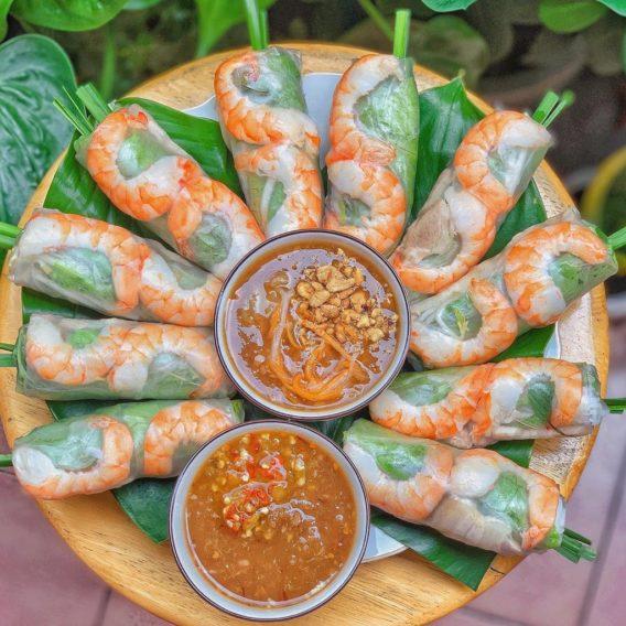 TOP 5 Saigon Street Food and Where to Find them - goi-cuon-spring-rolls Mon ngon Sai Gon