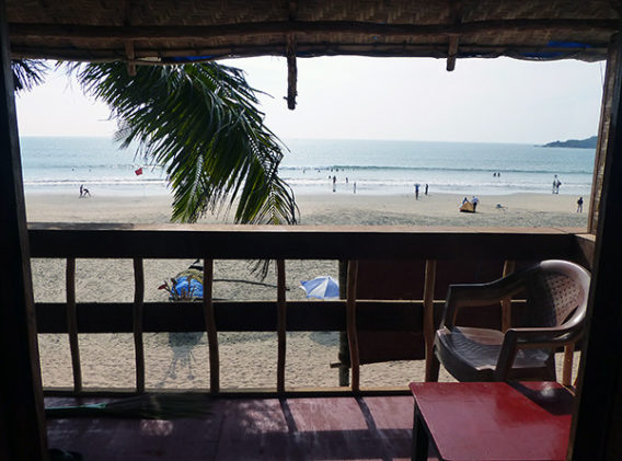 View From Balcony (Goa)-M